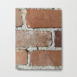 bricks of home Metal Print