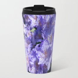 Indigo Azaleas Travel Mug