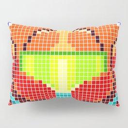 Metroid Tiles Pillow Sham