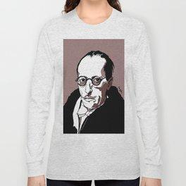 Stravinsky Russian Composer Portrait Art Wall Decor Home House Furniture Frame Music Musician Musica Long Sleeve T-shirt