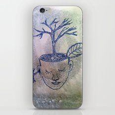 roots of thought iPhone & iPod Skin