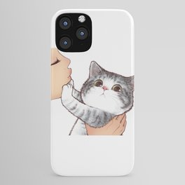 Kiss Cute Cat 3 iPhone Case
