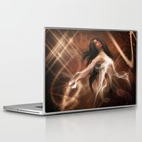women Laptop & iPad Skins featuring Women by Susann Mielke