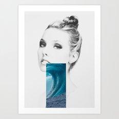 Ocean air Art Print