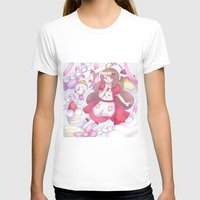 puppycat T-shirts featuring Bee & puppycat ver 2 by Kurodoj