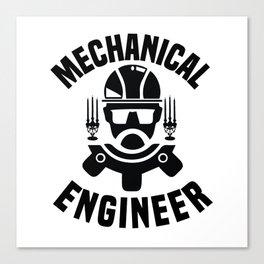 Engineer Crafts Mechanic Gift Canvas Print