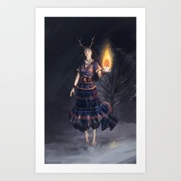 Seers Isle: Rowan Art Print