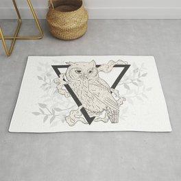 Owl Boho Rug