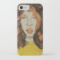afro iPhone & iPod Cases featuring Afro by Stephon Daniels