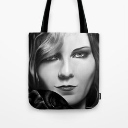 Kirsten Dunst by A.Harrison Tote Bag