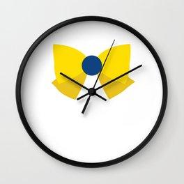 Sailor Uranus Bow Wall Clock