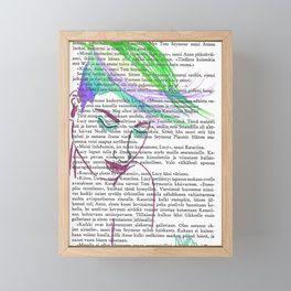 Parrot Hair Fashion Week Framed Mini Art Print