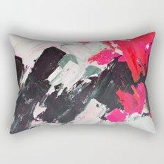 Hot Pink Franz Rectangular Pillow