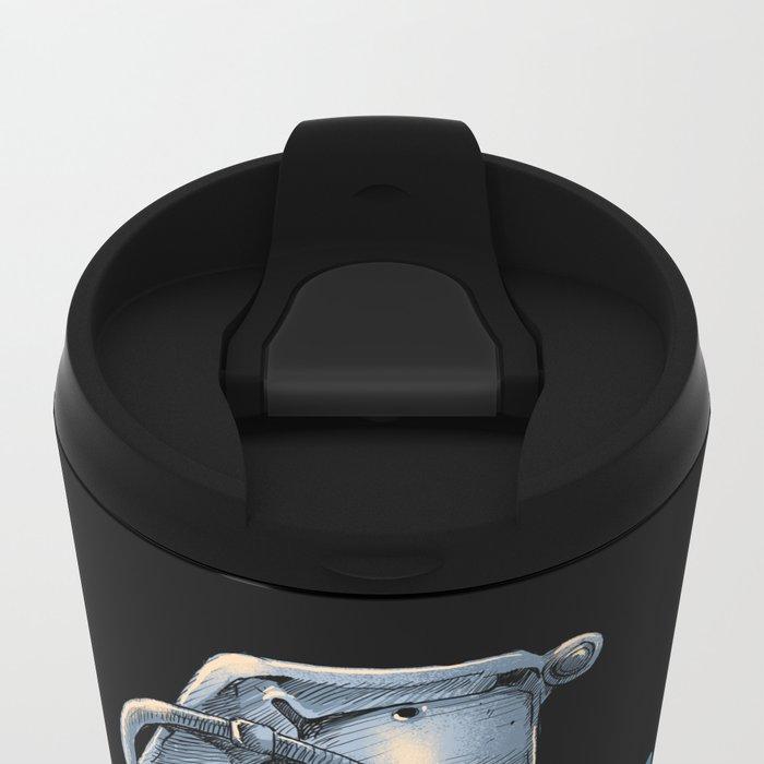 Heart Grenade Metal Travel Mug