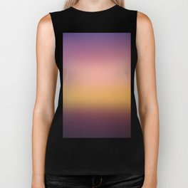 Sunset Gradient 10 Biker Tank