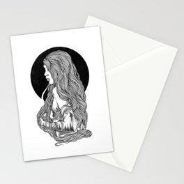 HIGHER THAN THE MOUNTAINS III Stationery Cards