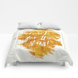 Reach For The Stars Comforters