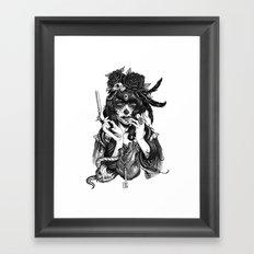 Chicana Framed Art Print