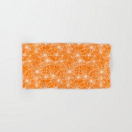 Pumpkin Cobwebs Hand & Bath Towel