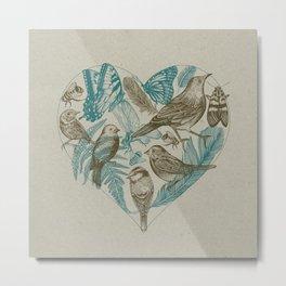 Wild Heart Metal Print