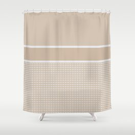 Dots 9 Shower Curtain
