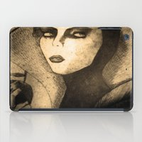 evil queen iPad Cases featuring evil queen -snow white by Mathieu DeVille