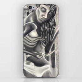 Weightless Woman iPhone Skin