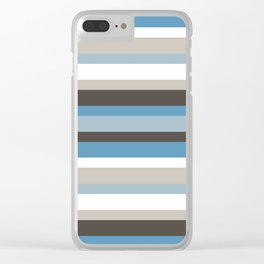 Abstract IV JL Clear iPhone Case