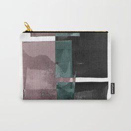 Layered Abstract Painting Carry-All Pouch