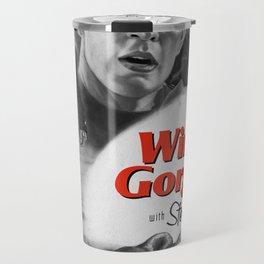 Winter Gorgon b&w Travel Mug