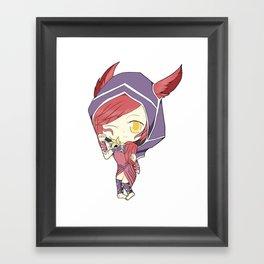 Xayah Framed Art Print