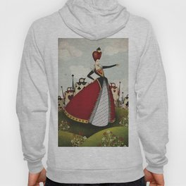 Off with their heads Queen of hearts from Alice in Wonderland Hoody