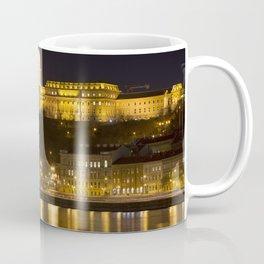 Budapest Chain Bridge And Castle Coffee Mug