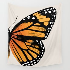 Monarch Butterfly | Right Wing Wall Tapestry