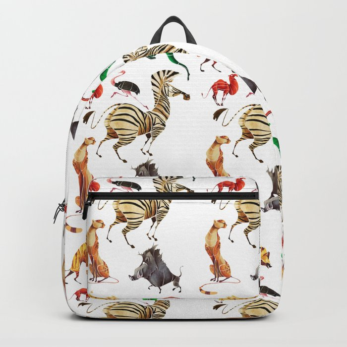 African animals 2 Backpack