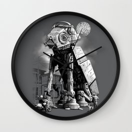 WELCOME TO TOWN Wall Clock