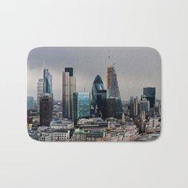 London Skyline Bath Mat