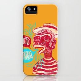 Roots Samba iPhone Case