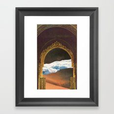 ascension day Framed Art Print