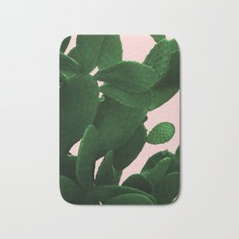 Cactus On Pink Bath Mat