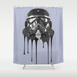 Shadowtrooper Melting 01 Shower Curtain