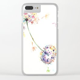Let's Fly Clear iPhone Case