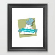 Madhatterhorn Framed Art Print