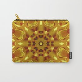 kaleidoscope Flower G68 Carry-All Pouch