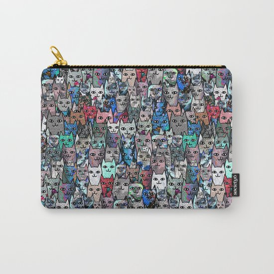 Gemstone Cats RGB Carry-All Pouch
