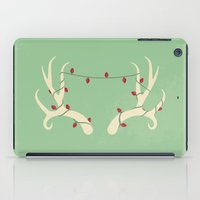 antler iPad Cases featuring Antler Lights by Slugbunny