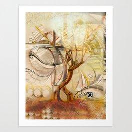 Axis Mundi V Art Print