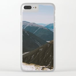 View from Avalanche Peak Clear iPhone Case