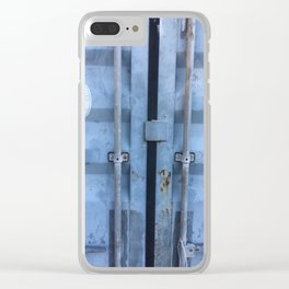 Shipping Container Doors Clear iPhone Case