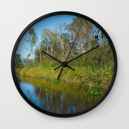 Sunny Side of the Street Wall Clock
